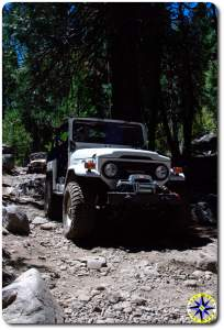 fj40 rubicon trail