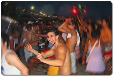 venezuela beach party