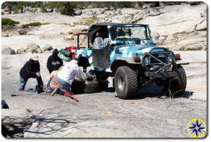 FJ40 repair on rucion trail