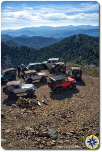 Jeeps and land rovers