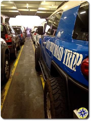 fj cruiser seattle ferry