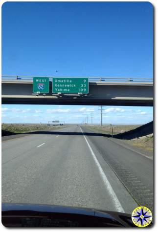 road trip I84 overpass yakima washington