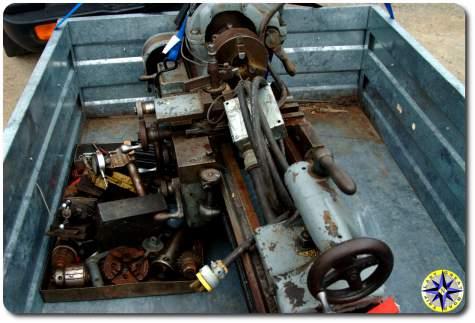 1940 Sheldon 11 inch thread cutting metal lathe