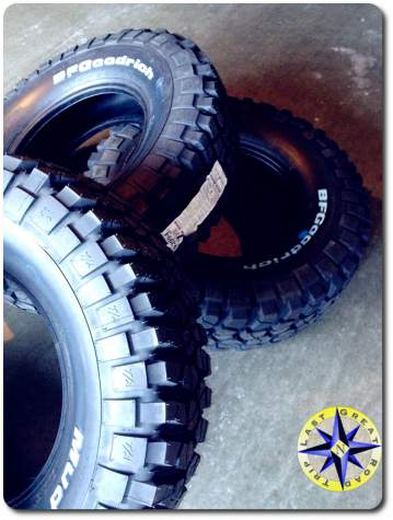 new bfgoodrich km2 tires