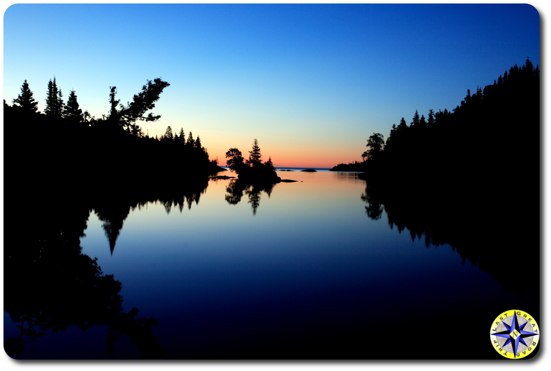 Chippewa Harbor Sunrise