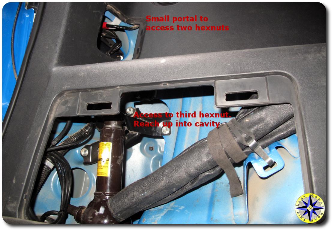 fj cruiser taillight access panel