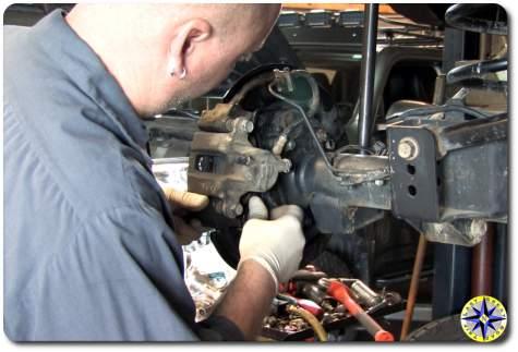 FJ Cruiser rear brakes