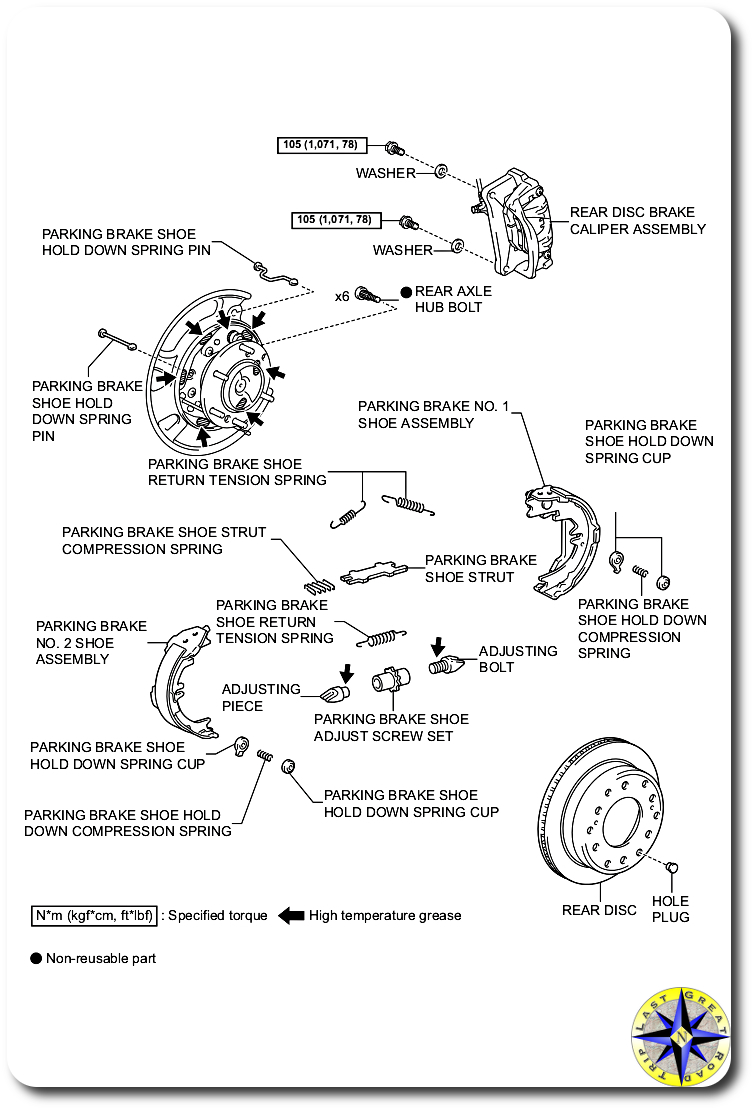 How To Fj Cruiser Wheel Bearing Replacment Overland Adventures And Hub Assembly Diagram Rear Axle Parts