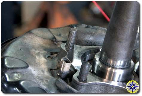 wheel bearing ABS sensor