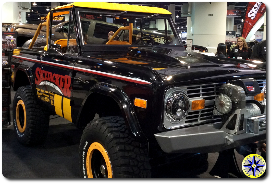 skyjacker ford bronco sema 2014