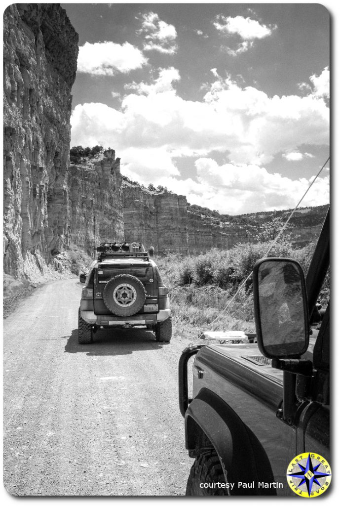 utah canyons fj cruiser land rover defender 90
