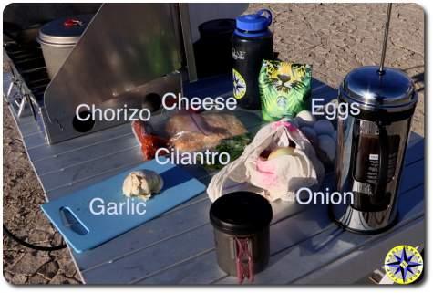 huevos ranchero ingredients