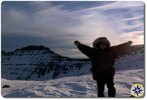 Victory on the mountain