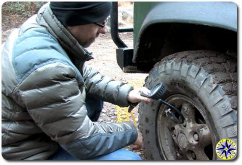 tire inflation in the cold