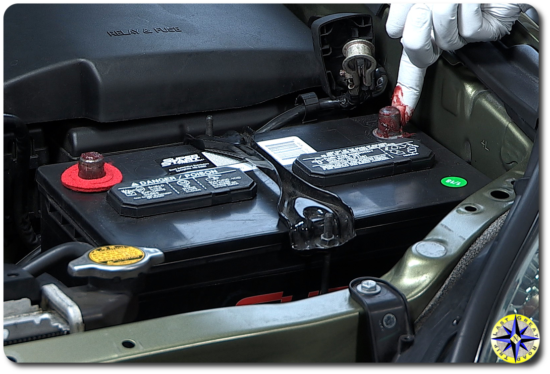 car battery terminal gel